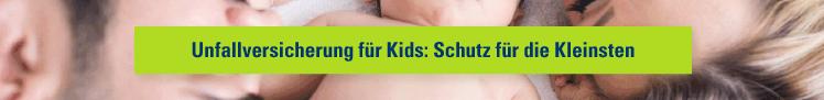 Unfallversicherung für Kids: Schutz für die Kleinsten